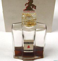 Vintage Guerlain SHALIMAR Perfume! 2.7 oz  1/3 Full+Box Sold for $238.00 Bidders 22