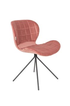 OMG velvet chair - Old pink French Dining Chairs, Wicker Dining Chairs, Metal Chairs, Upholstered Chairs, Chair Cushions, Rocking Chair Redo, Swinging Chair, Cheap Desk Chairs, Cool Chairs