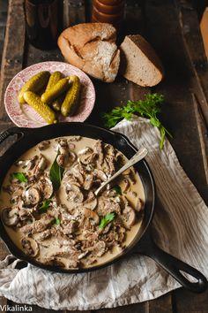 Best Beef Stroganoff by vikalinka #Bef #Stroganoff