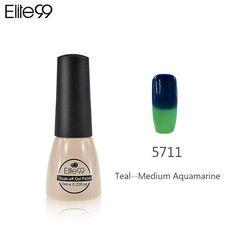 Elite99 Thermal Mood Color Changing Nail Gel Polish 7 ml Nail Art Glaze Temperature Color Chageable Nails Polish Gel Varnish