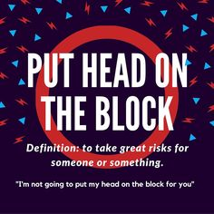 """Use these unique """"head""""phrases to enrich your spoken English. Stand Out from the Crowd #idioms"""