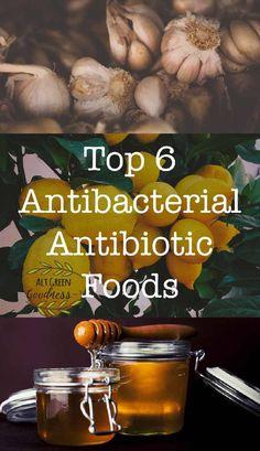 Antibacterial Antibiotic Foods