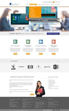 Web Design Ideas ideas and examples for web design industry enterprise sme corporate web design Web Design Web Layout Home Page