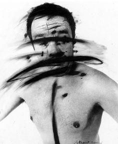 Arnulf RAINER Arnulf Rainer, Fluxus, Conceptual Photography, Studio Portraits, Photomontage, Lovers Art, Art Inspo, Painting & Drawing, Sculpting