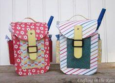 Crafting in the Rain: Backpack Gift Box