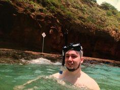 Dylan Snorkelling Hanauma Bay Honolulu Hawaii