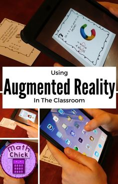 Amazing Augmented Reality in the Classroom! (An Alternative to QR Codes)., EDUCATİON, Amazing Augmented Reality in the Classroom! (An Alternative to QR Codes). Virtual Reality Education, Augmented Virtual Reality, Math Education, Education Quotes, Fifth Grade Math, Fourth Grade, Educational Technology, Technology Tools, Futuristic Technology