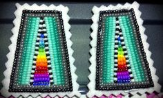 """Earrings, """"Designed by Shanna"""" (on Facebook)"""
