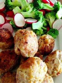 Enkel: Kyllingkjøttboller med kikkerter