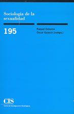 """""""Sociología de la sexualidad"""" Una consolidación académico de la sexualidad en la sociedad española."""