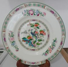 Beautiful Wedgwood Kutani Crane 10 3/4\  Dinner Plate Excellent Condition -  : waechtersbach christmas tree dinner plates - pezcame.com