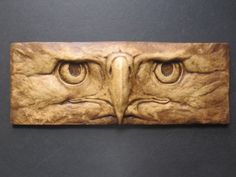 Items similar to Eagle Fierce Eyes Decorative Fine Art Wallsculpture/Tile on Etsy Wood Carving Patterns, Wood Carving Art, Stone Carving, Carving Designs, Wood Art, Tree Sculpture, Animal Sculptures, Wall Sculptures, Picture Tiles