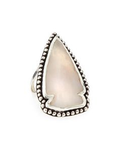 Jasper Arrowhead Ring by Pamela Love at Neiman Marcus.