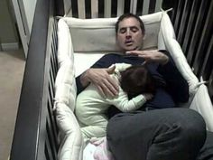 Father goes into baby crib! - YouTube