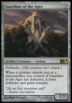 Magic the Gathering Guardian of the Ages from Magic 2014 Core Set - #mtg