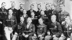 H Division1889. London police force responsible for bring Jack the Ripper to Justice