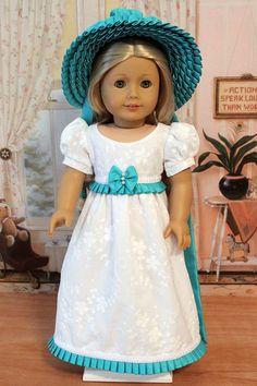 Regency Spencer Jacket, Bonnet and Dress by BabiesArtUs via Etsy $170.00