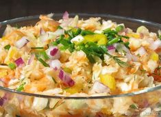 Surówka na majówkę w 5 minut. - przepis ze Smaker.pl Potato Salad, Potatoes, Drinks, Ethnic Recipes, Food, Drinking, Beverages, Potato, Essen