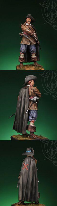 Spanish Tercio Old Soldier at Rocrio, 1643