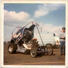 Vintage Drag Racing - Rick Parcard