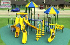 BCI Burke Play Structure: Voltage 3D-1897