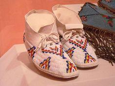 Cheyenne Moccasins, via Flickr.