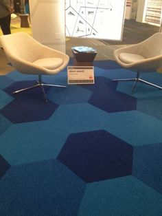 inspiration everywhere at #NeoCon13. cool floor from @ShawContract #neoconography