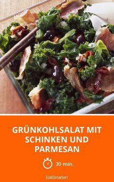 Grünkohlsalat mit Schinken und Parmesan - smarter - Zeit: 30 Min. | eatsmarter.de