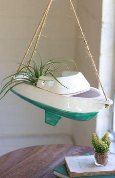 Ahoy Matey - hanging planter