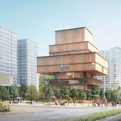 Herzog+&+de+Meuron+designs+art+museum+made+of+stacked+wooden+boxes+in+Vancouver