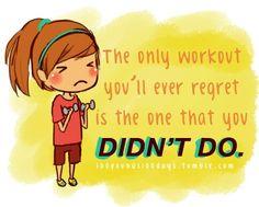 A little cute motivater