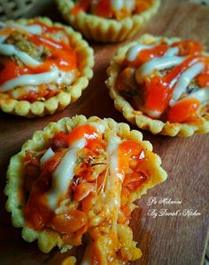 Pastry Recipes, Cookie Recipes, Snack Recipes, Indonesian Desserts, Indonesian Food, Macaroni Pie, Egg Tart, Cheese Tarts, Bread Bun