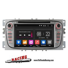 Consola Ordenador de a Bordo GPS Radio DVD Android 4.4 1024X600 Para Ford Focus 2009 2011 -- 271,91€
