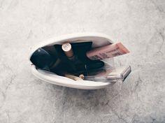 New post is on p.s. minimalist. it's a what's in my makeup bag post