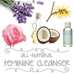 All-Natural Feminine Cleanser Recipe