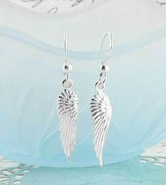 feather necklace and earrings wing necklace and earrings #3 Angel devil