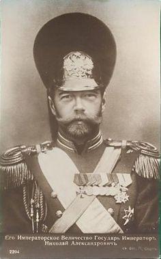 Tsar Nicholas II......he looks like Brad Pitt.