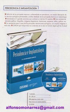 LIBROS DVDS CD-ROMS ENCICLOPEDIAS EDUCACIÓN EN PREESCOLAR. PRIMARIA. SECUNDARIA Y MÁS: IMPLANTOLOGÍA PERIODONCIA