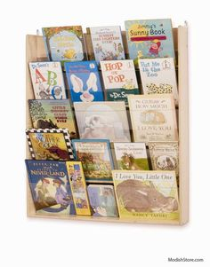 Whitney Brothers Wall-Mounted Book Display – Modish Store
