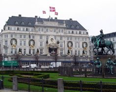 My Home away from home the Hotel D'Angleterre, Copenhagen.