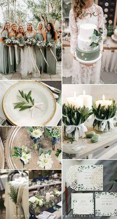 10 Paletas de cores: Casamentos 2019 - Wedding blog Brasil