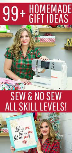 I LOVE this collection of homemade gift ideas. Sewing Hacks, Sewing Tutorials, Sewing Patterns, Sewing Ideas, Fun Arts And Crafts, Crafts To Make, Homemade Gifts, Diy Gifts, Fabric Crafts
