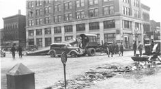 clean up after the 1937 flood - Portsmouth, Ohio