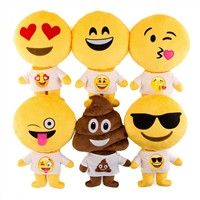 Emoji Poop Doll Pillow