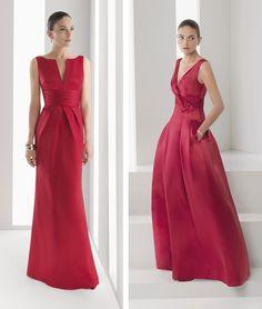 vestidos de madrinas de boda rojos - Buscar con Google