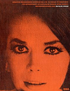 Natalie Wood by Sandy Dvore, via Behance