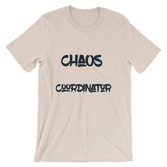 Chaos Coordinator Short-Sleeve Unisex T-Shirt