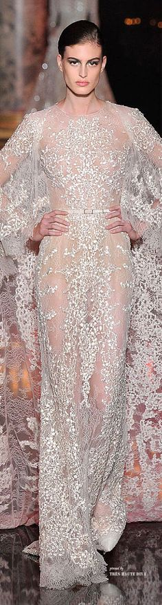 Elie Saab Couture Fall 2014...