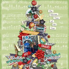 Image result for Christmas scrapbooking pages