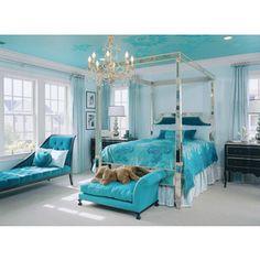 Turquoise Bedroom - Margaret Donaldson